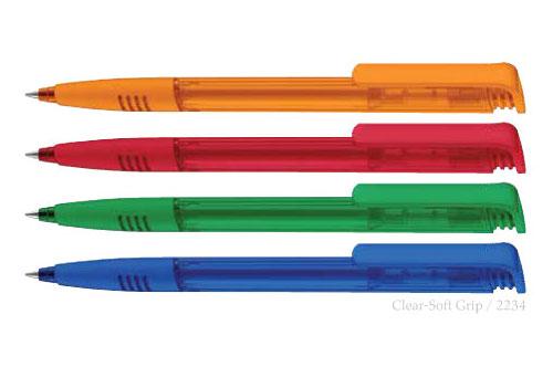 خودکار پلاستیکی تبلیغاتیSUPER HIT FROSTED 2234
