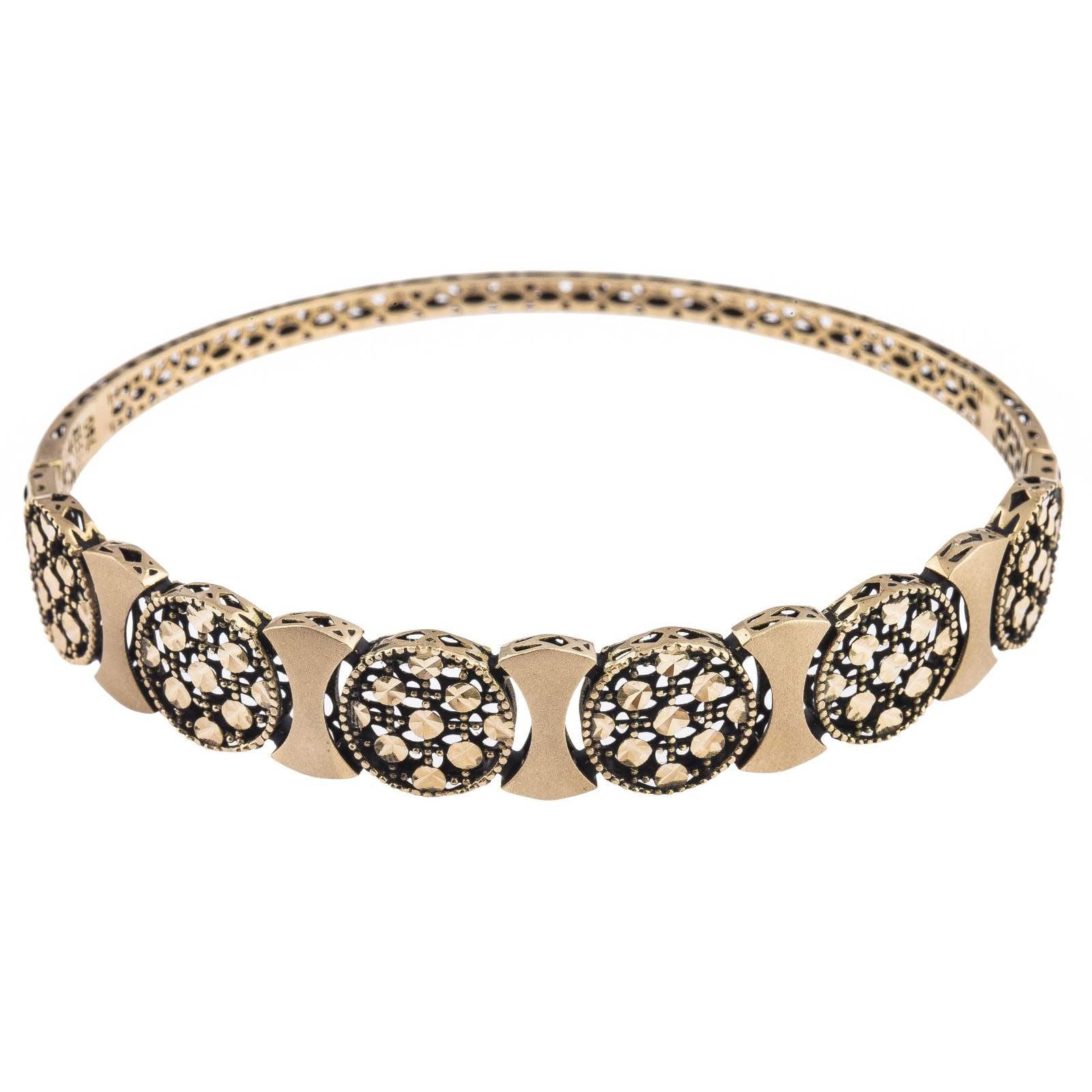 دستبند طلا 18عیار زنانه کد B135