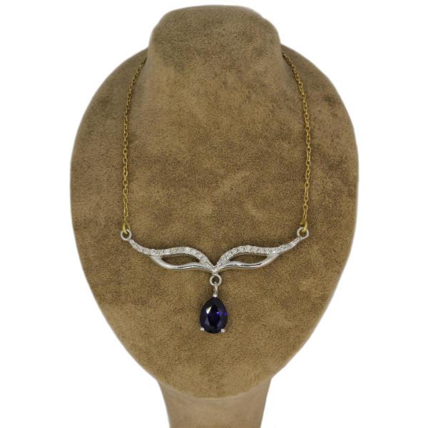 گردنبند طلا 18عیار زنانه جواهری گاندی مدل A1910