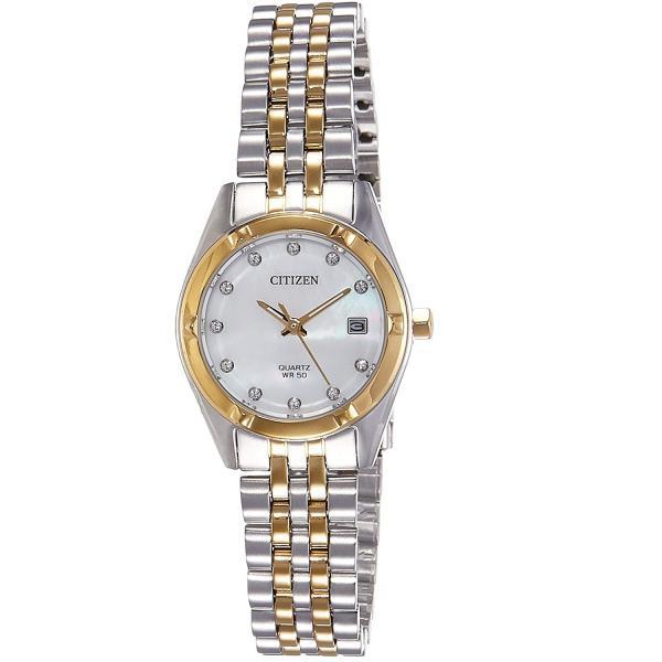 ساعت مچی عقربه ای زنانه سیتی زن مدل EU6054-58D