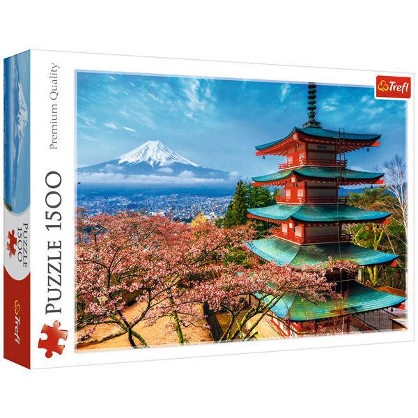 پازل 1500 تکه تریفل طرح کوه فوجی