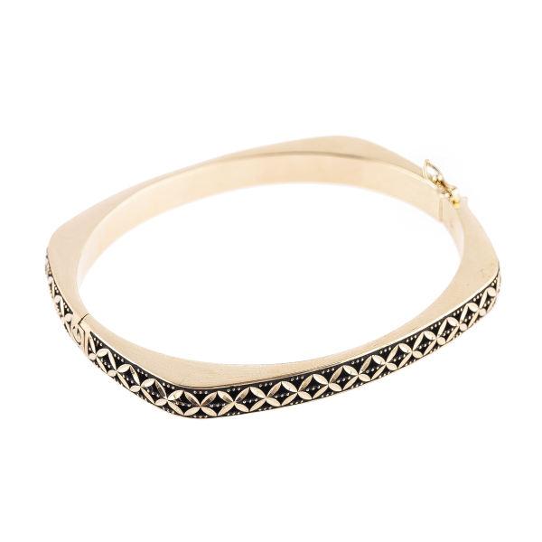 دستبند طلا 18 عیار کد B114