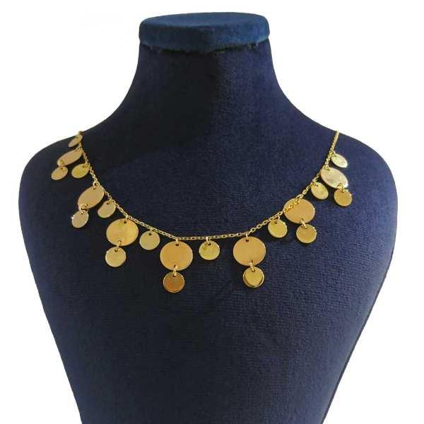 گردنبند طلا 18 عیار زنانه کانیار گالری کد GAR28