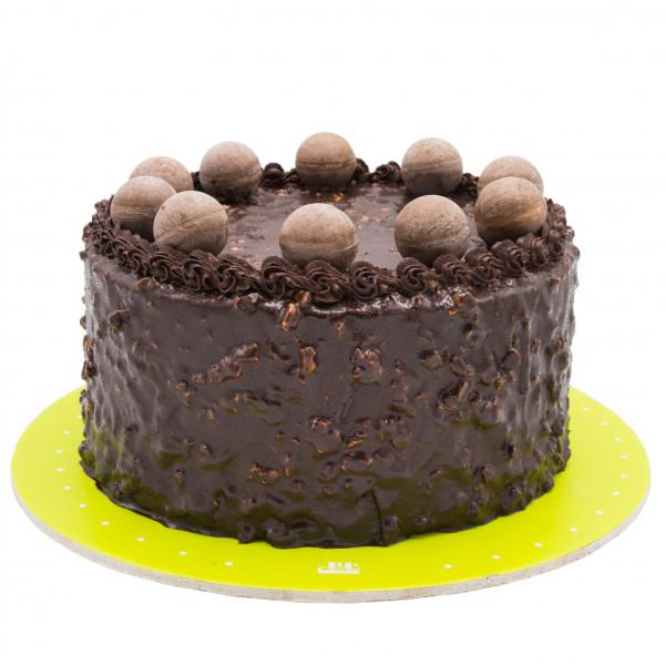 کیک شکلات بادامی BB595